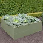 Harrod Metal Raised Bed Planters - Heritage Green