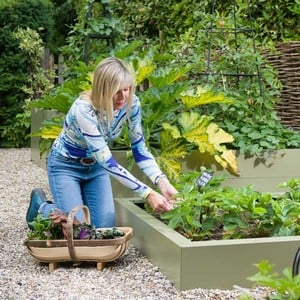 Harrod Metal Raised Beds - Heritage Green