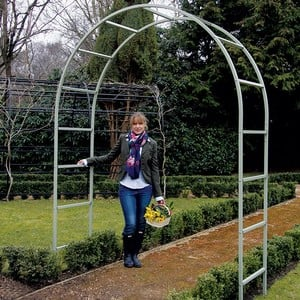 Roman Garden Arch In Lichen Green Harrod Horticultural
