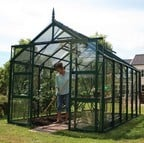 Harrod Superior Greenhouse - Forest Green