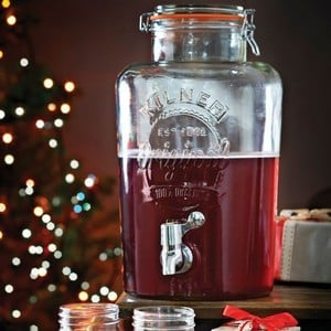 Kilner 8ltr Glass Clip Top Drinks Dispenser