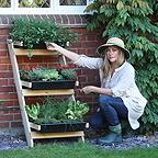 Lean-To Ladder Vegetable Garden