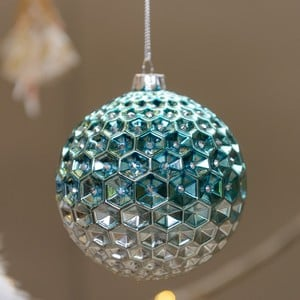 Lexena Glass Bauble by Floral Silk