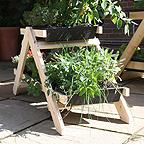 Mini A-Frame Vegetable Garden