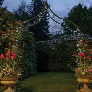 Outside LED String Lights - Dual Power