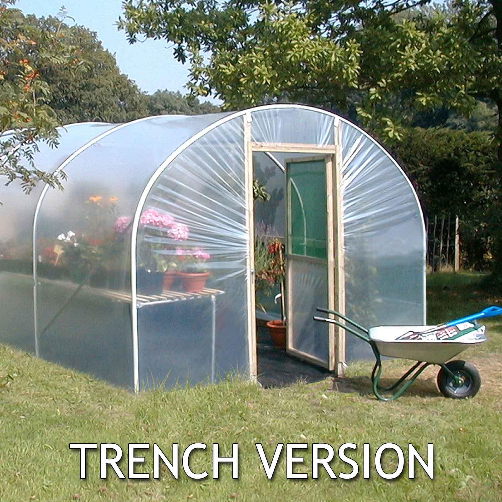 Polytunnel 8ft wide - Harrod Horticultural