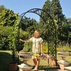 Roman Full Lattice Superior Garden Arch