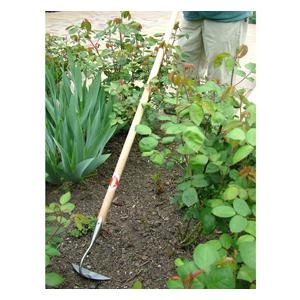Sneeboer Long Handled Half Moon Hoe