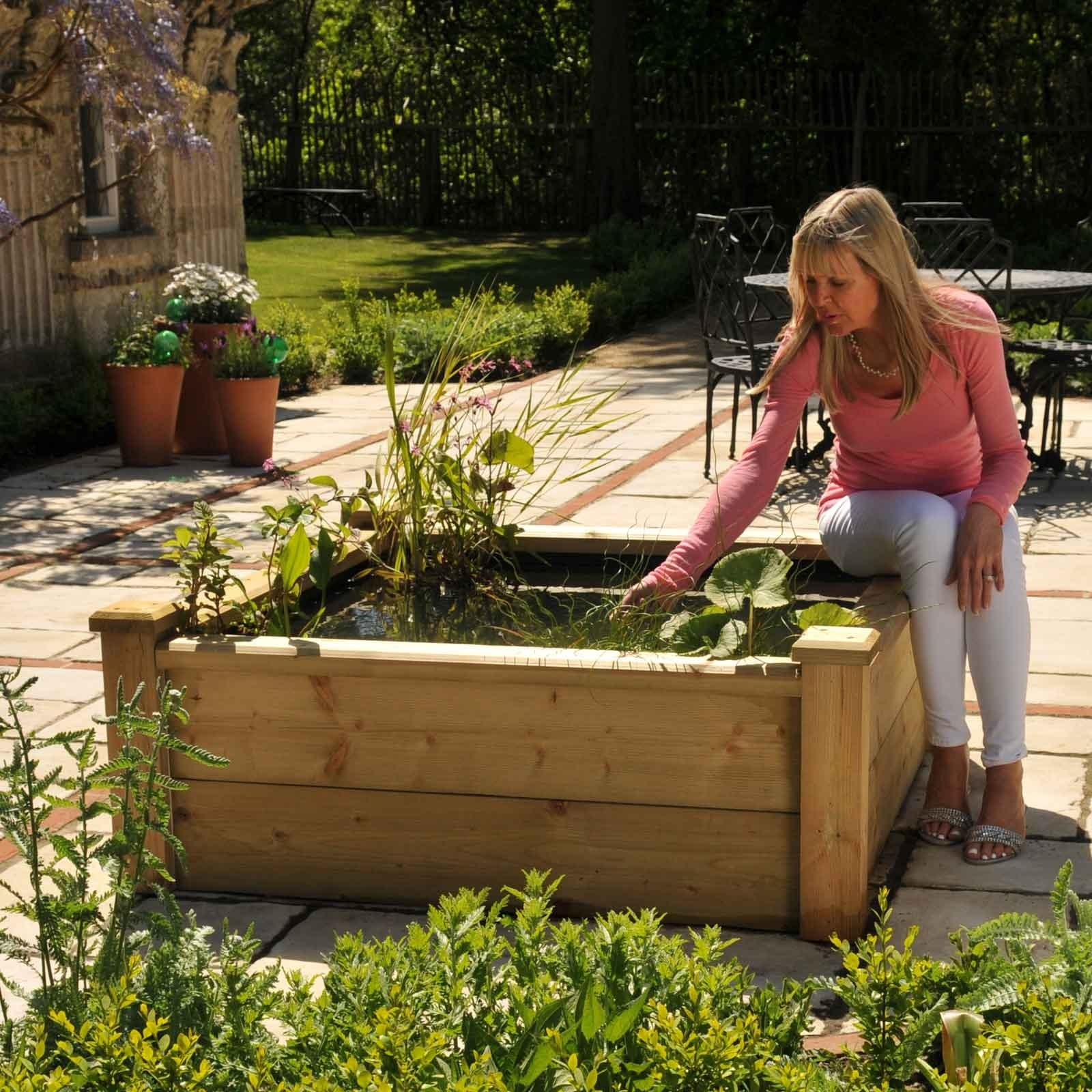 Wooden Raised Bed Pond Kits Harrod Horticultural Uk