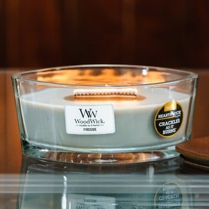 Woodwick Hearthwick Fireside Scented Crackle Candle
